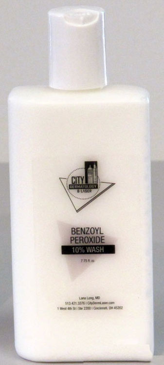 Benzoyl Peroxide Wash